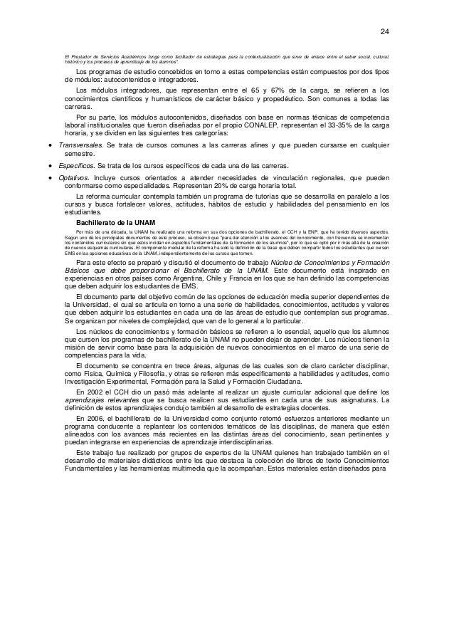 24  El Prestador de Servicios Académicos funge como facilitador de estrategias para la contextualización que sirve de enl...