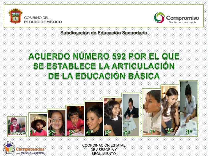 Subdirección de Educación Secundaria         COORDINACIÓN ESTATAL            DE ASESORÍA Y             SEGUIMIENTO
