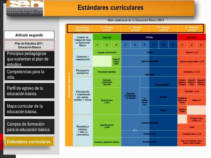 Acuerdo 592 educacion preescolar 2011 for Estandares para preescolar