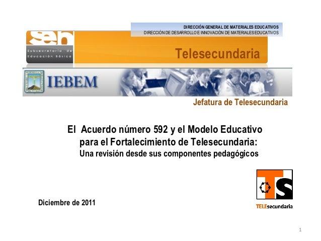 DIRECCIÓN GENERAL DE MATERIALES EDUCATIVOS                            DIRECCIÓN DE DESARROLLO E INNOVACIÓN DE MATERIALES E...