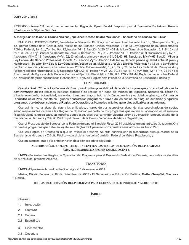 29/4/2014 DOF - Diario Oficial de la Federación http://dof.gob.mx/nota_detalle.php?codigo=5328399&fecha=29/12/2013&print=t...
