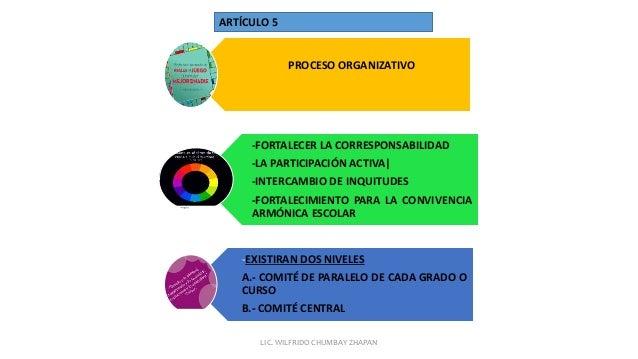 PROCESO ORGANIZATIVO -FORTALECER LA CORRESPONSABILIDAD -LA PARTICIPACIÓN ACTIVA  -INTERCAMBIO DE INQUITUDES -FORTALECIMIEN...