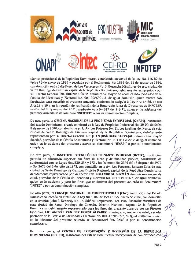 Acuerdo colaboración interinstitucional asonaimco Slide 2