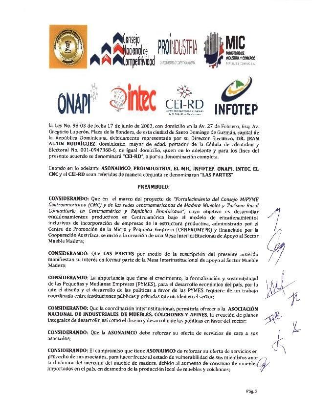 Acuerdo colaboración interinstitucional asonaimco Slide 3