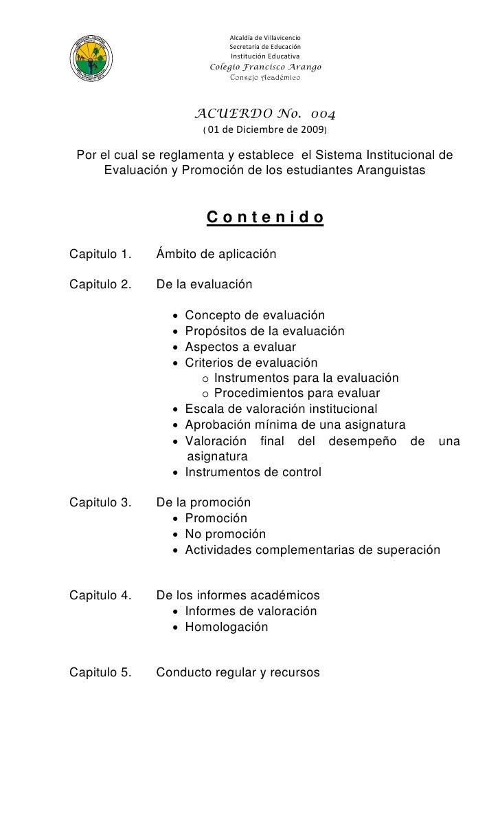 Alcaldía de Villavicencio                            Secretaría de Educación                             Institución Educa...