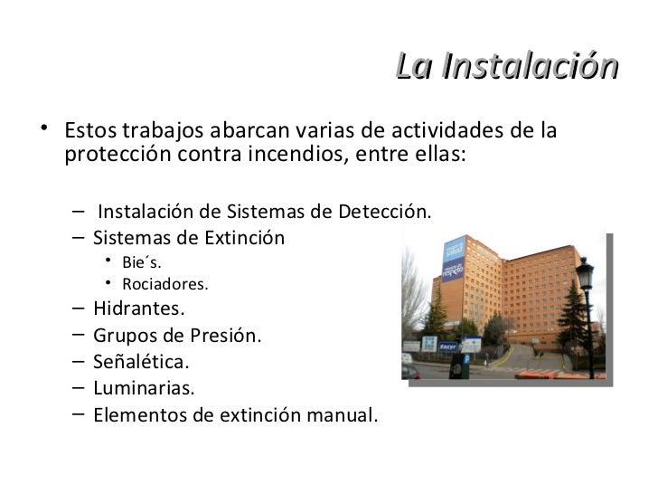 Grupo EIVAR, Sistemas de Protección contra Incendios firma con el Hospital de Valladolid Slide 3