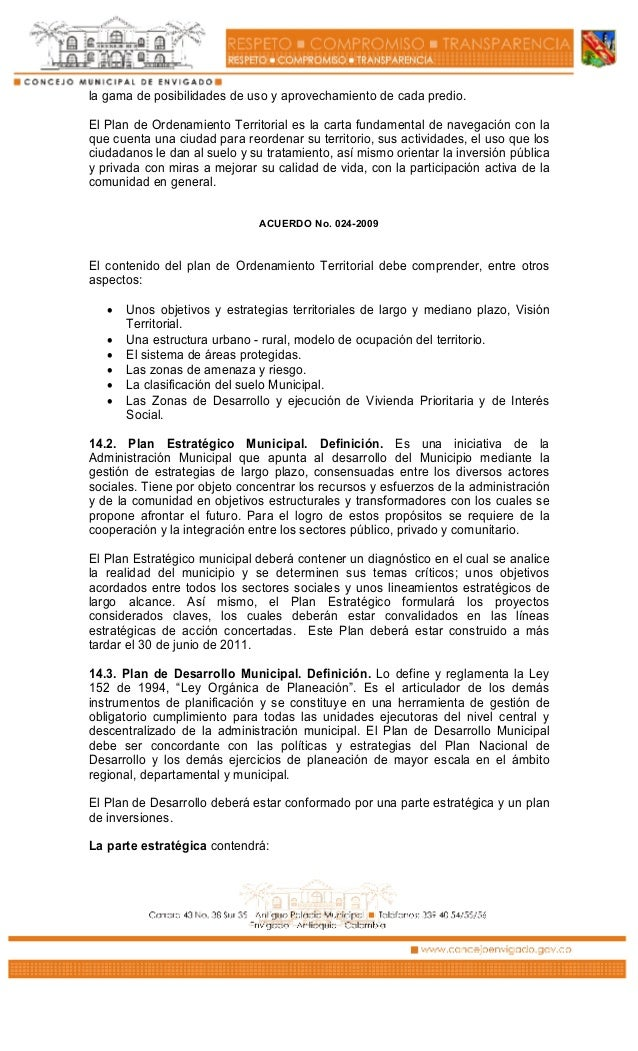 Acuerdo municipal 024 de 2009 slp for Validez acuerdo privado clausula suelo