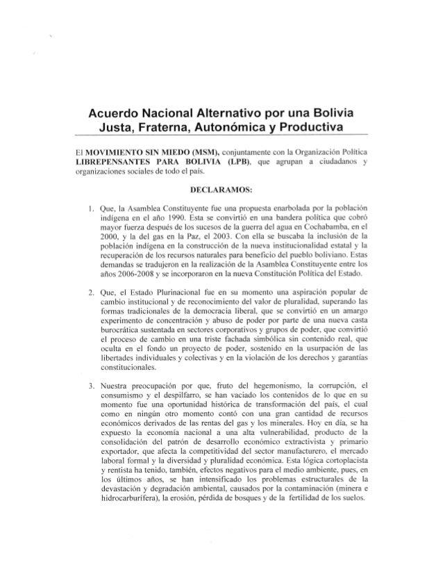 Acuerdo Rebeca Delgado y Juan del Granado