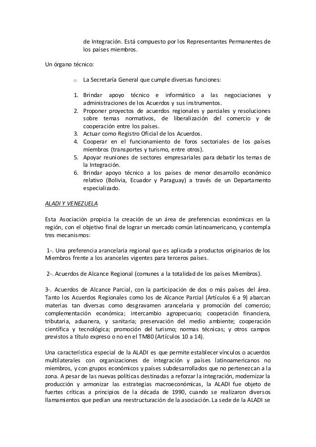 Acuerdos de integracion economica Slide 2