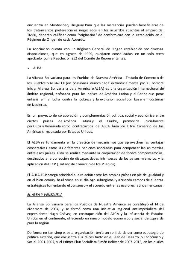 Acuerdos de integracion economica Slide 3
