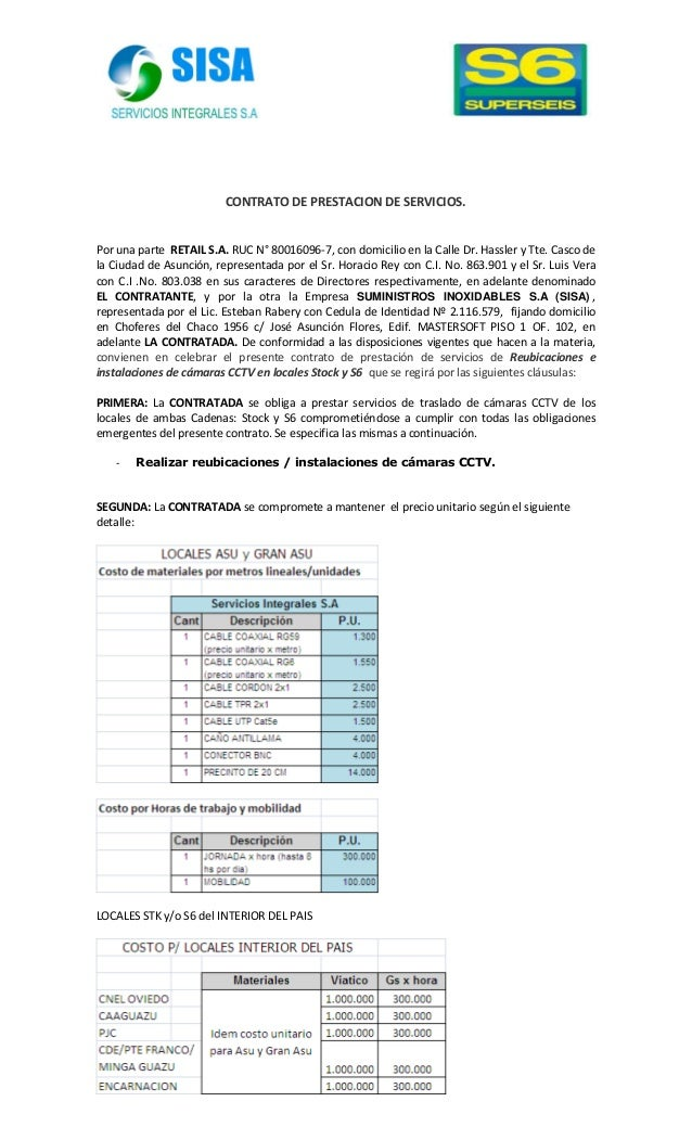 Contrato de stock options