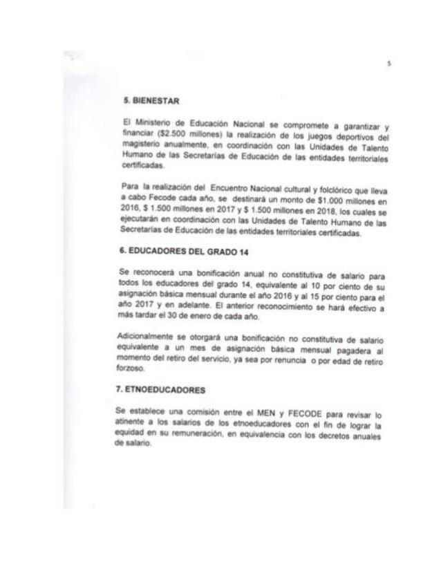 Acuerdos fecode men 2015