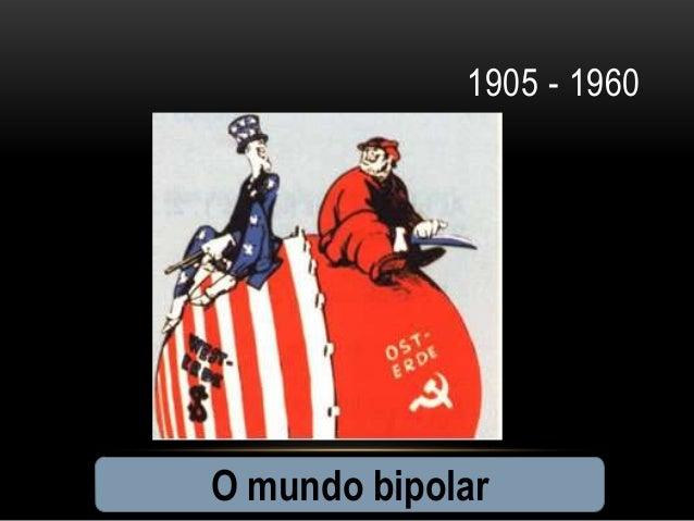 1905 - 1960O mundo bipolar