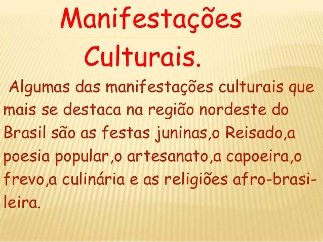 A cultura do nordeste Slide 3