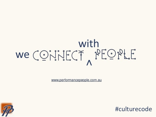 A Culture of Connection (#culturecode)