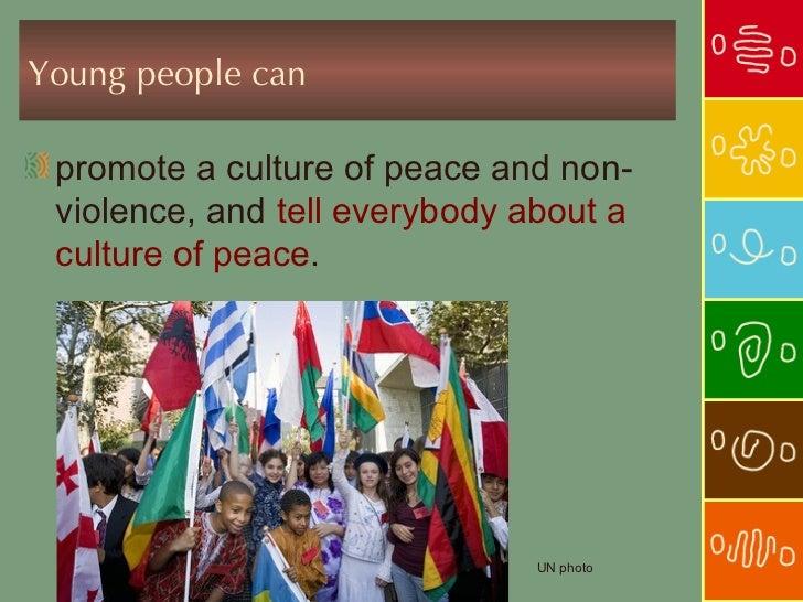how to achieve peace through non violence speech