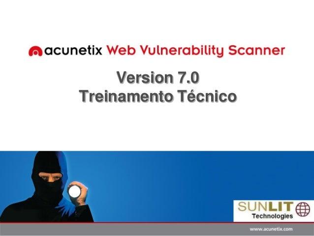 Version 7.0 Treinamento Técnico