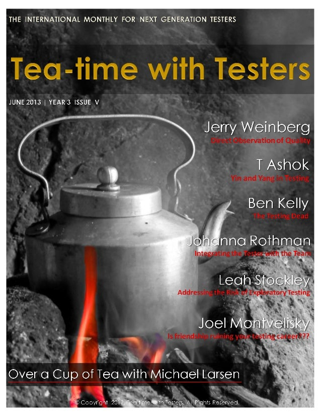 Teatimewithtesters.com June 2013|34 MKL Intervi ew When he was younger he had no idea what he wanted to do with his life. ...