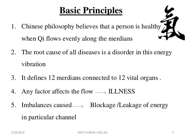 Acupuncture, contraindications, application and principle of action
