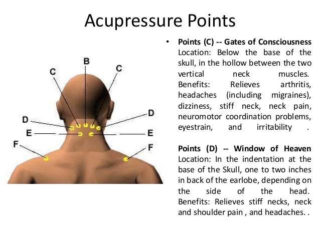 Acupuncture in neck pain