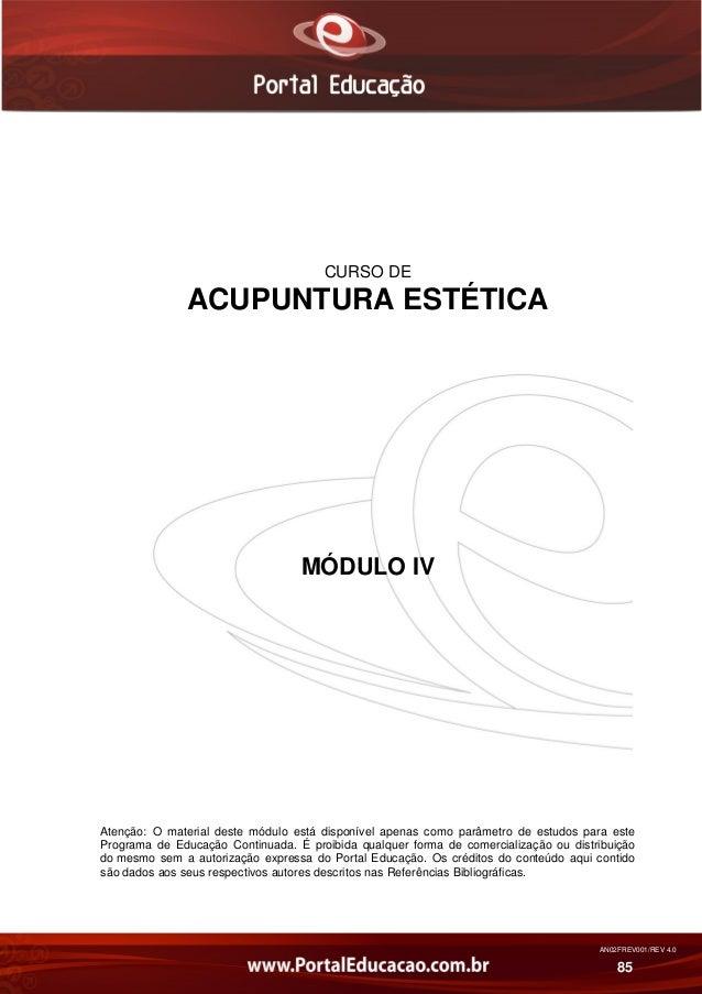 Acupuntura estética modulo 4 Slide 2