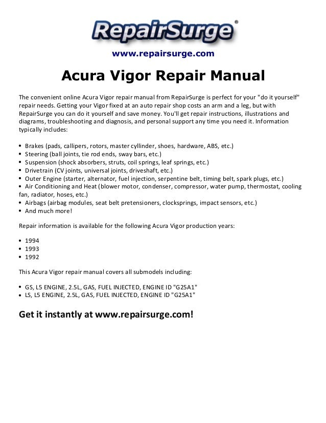 1992 acura vigor wiring diagram 1992 image wiring 1994 acura vigor repair manual acura get image about wiring on 1992 acura vigor wiring