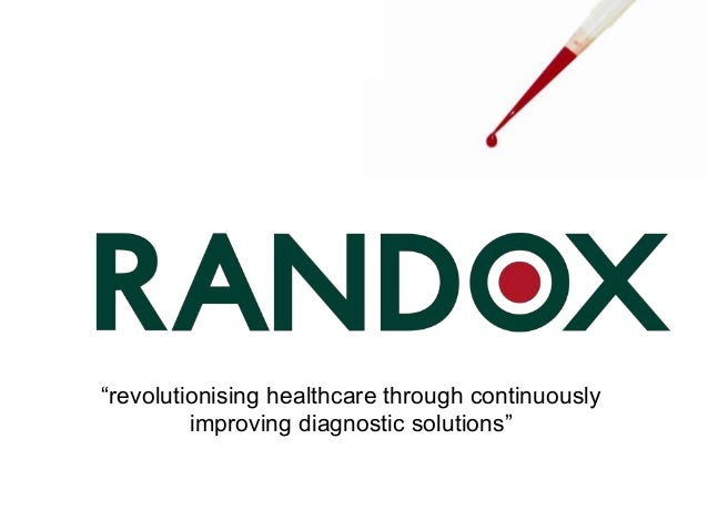 """""""revolutionising healthcare through continuously improving diagnostic solutions"""""""