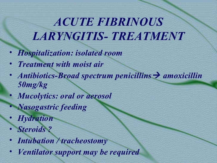 Acute laryngitis steroids taking steroids at 20