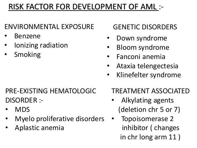 acute leukemiarisk factor