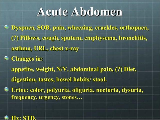 Symptoms, Causes, Diagnosis and Treatment of Dyspnea