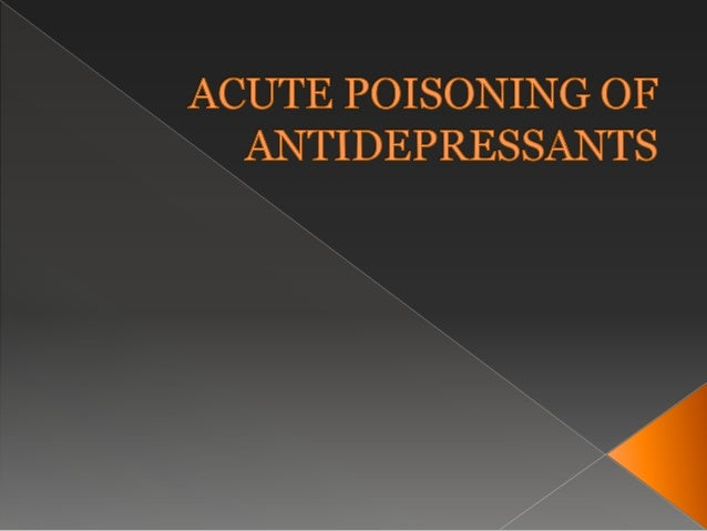 TRICYCLIC ANTIDEPRESSANTS They have been employed in drug therapy since the late 1950s. Largest group of drug agents use...