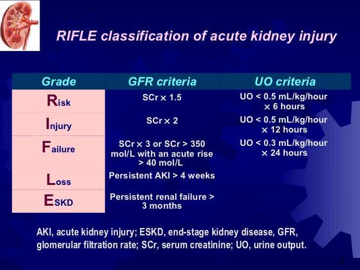 Acute renal failure in icu ..... Slide 2