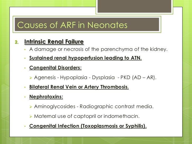 Indomethacin neonates