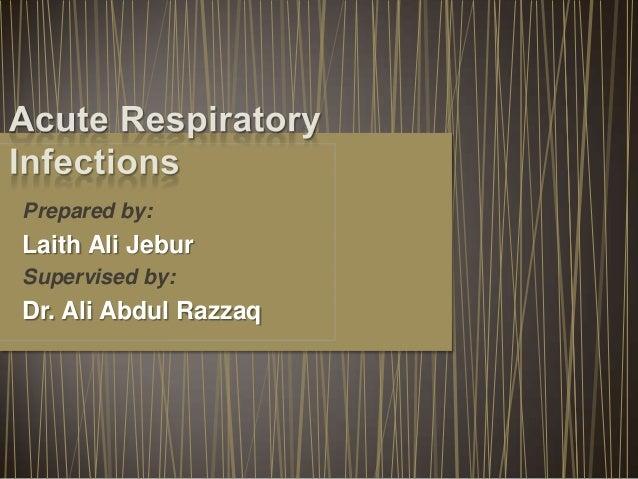 Prepared by:  Laith Ali Jebur Supervised by:  Dr. Ali Abdul Razzaq