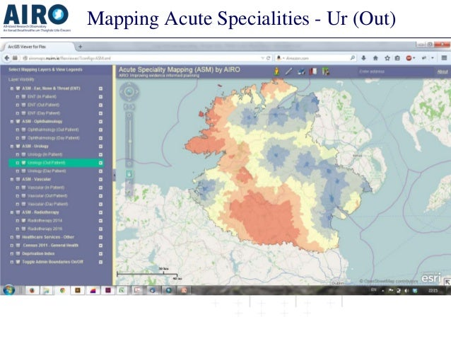 Mapping Acute Specialities - Ur (Out)