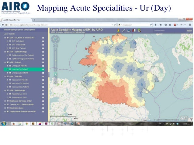 Mapping Acute Specialities - Ur (Day)