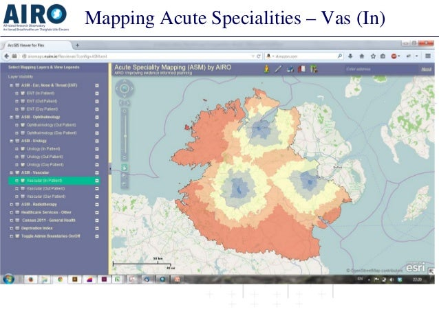 Mapping Acute Specialities – Vas (In)