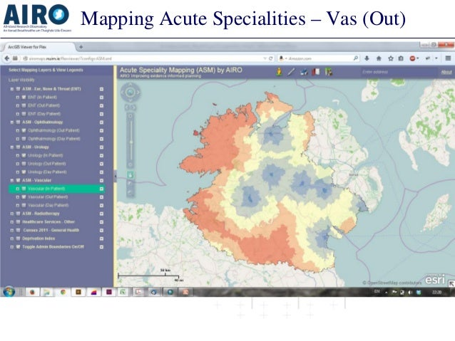 Mapping Acute Specialities – Vas (Out)