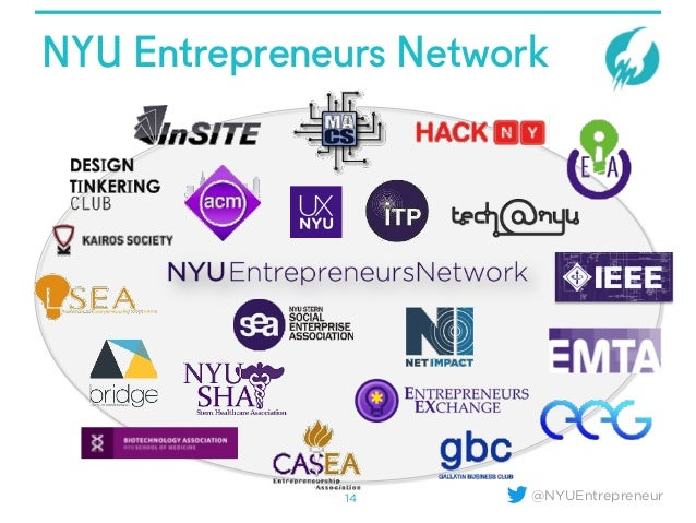 @NYUEntrepreneur NYU Entrepreneurs Network 14