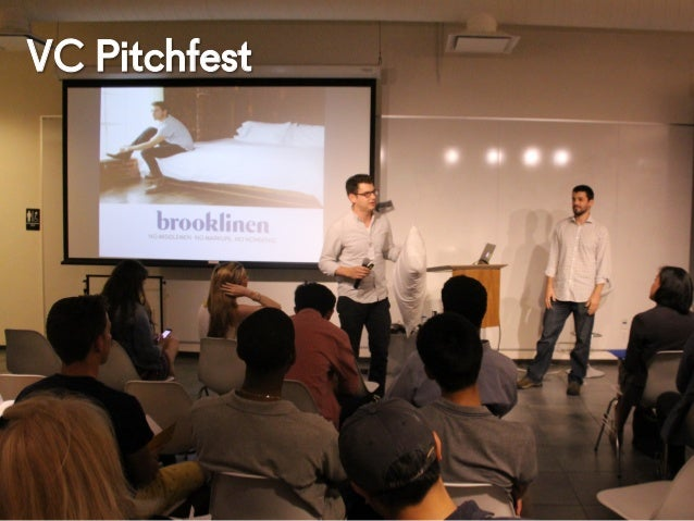 @NYUEntrepreneur VC Pitchfest