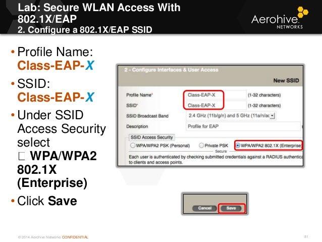 Acwp Aerohive configuration guide