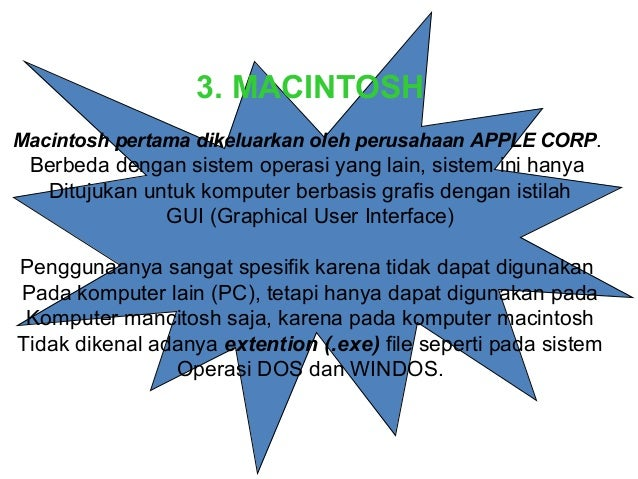 Sistem operasi pc