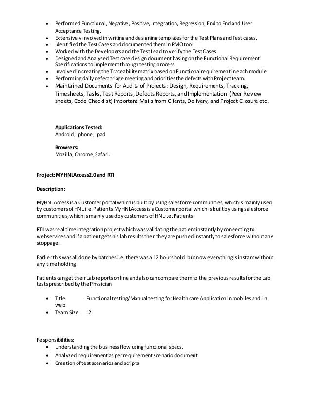 Test Electronics Engineer Resume Functional Testing