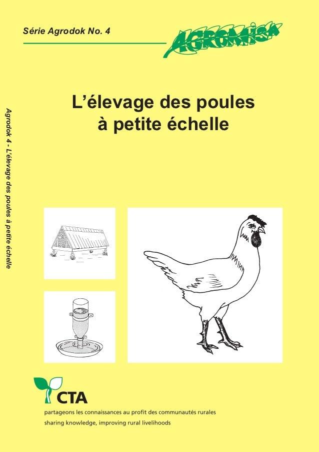 La série AGRODOK est une collection de documents techniques simples et bon marché surla pratique de l'agriculture durable ...