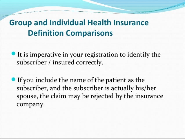 Heatlh Insurance Overview
