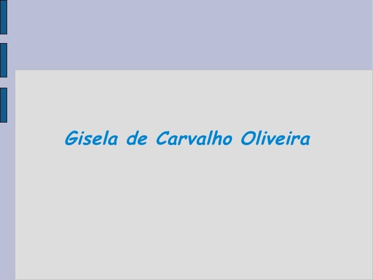 Gisela de Carvalho Oliveira