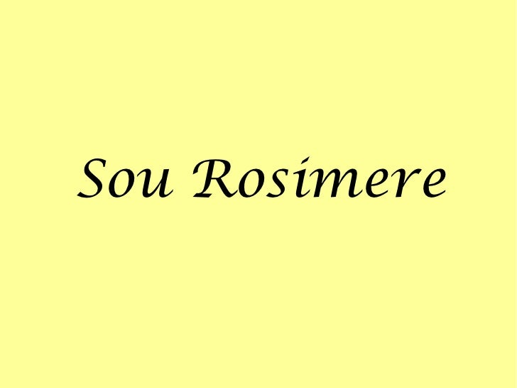 Sou Rosimere