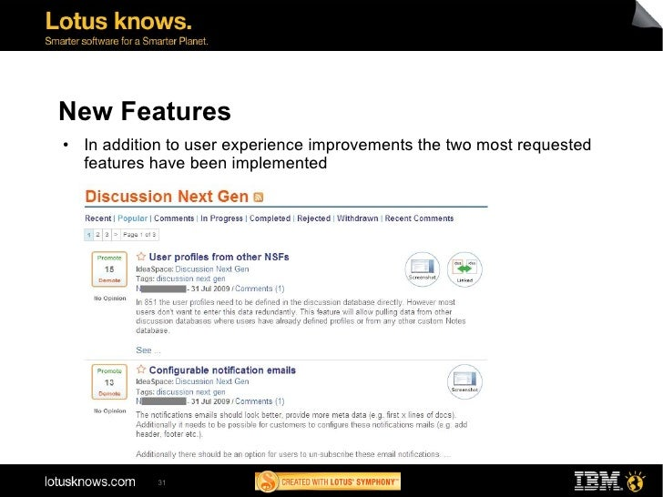 Ad113 ibm lotus notes discussion template next for Lotus notes database templates