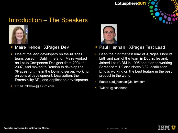 AD116 XPages Extension Library: Making Application Development Even Easier Slide 3