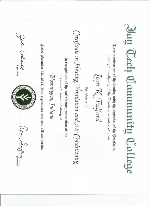 hvac certificate slideshare upcoming cb
